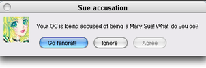 Mary Sue Accusation Error by quamp