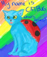 My Name Is Catbug by Invaderzim1223