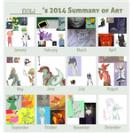 Art of 2014 - The Past by 61666
