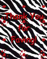 Thanks for faving by Sugaree-33