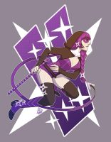 Ninja Violet by AnimaProject