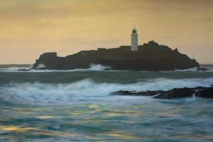 Godrevy Lighthouse,Cornwall II by JakeSpain