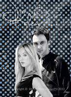 Kaley Cuoco and Jim Parsons | The Big Bang Theory by Xiouz15
