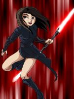 Bastila the Sith Apprentice by Rudysseus