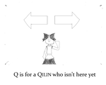 Q is for a Qilin by xzibits41001