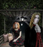 Lestat and Claudia by laeti-k