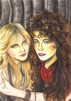 Doro Pesch and Lee Aaron by cozywelton
