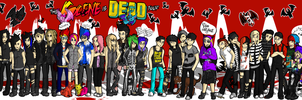 The Scene Is Dead Tour Poster by MiserableDog