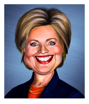 Hillary Clinton by ThatsSoMaeven