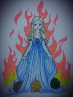 Daenerys Targaryen from Game of Thrones by pinky-julie-winky
