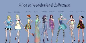 Alice in Wonderland Collection by TheWhiteSwan