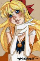 Sailor Venus by h0n3yd011