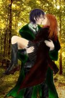 Snape and Lili by MikaIsLove