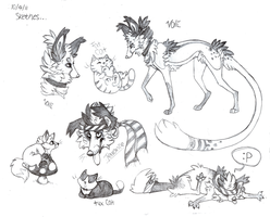 Sketch dump by Valinity
