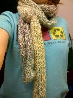 My First Scarf by Ephemeroptera-Gnome