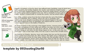 APH: Ireland profile by TheChainedWolf