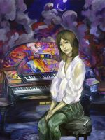 the piano of my dream by Nayth