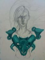 Breastplate of Foreign Soul [WIP] by TheSeventhArete