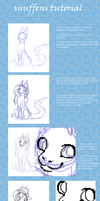 Snuffens easy drawinf tutorial by griffsnuff