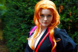 Bleach - Rangiku Matsumoto by DNomNettash