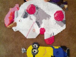Despicable Me Perler by powerranger02