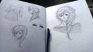 Evelyn:Sketch Page by Vao-K