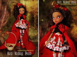 Red Riding Hood Carina by MyobiMarishka