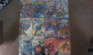 Comic Collection: DC - Action Comics by super-gamer