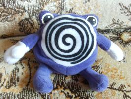 My Poliwhirl Plush by The-Real-Shaydee