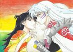 Always together....Sesshomaru and Rin by Michael1525