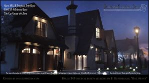 House 345 Night Scene by Built4ever