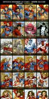 Superman: The Legend sketch card set (cryptozoic) by Axigan