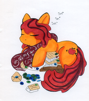 Sleepy Cider Barrel by GothyBeans
