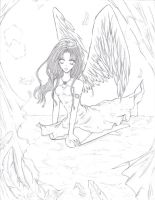 The Angel by Pae-kym