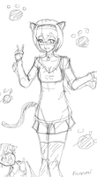 what do you think onii-chan ? WIP by unonyan