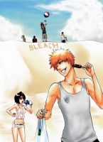 Bleach beach by AFunny