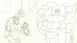 Soundwave gets groceries by FunkyK38