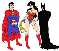 The Trinity Colored by Axel-Knight