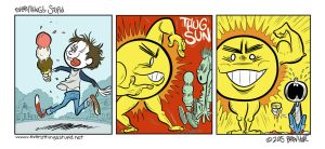 Thug Sun by brien-likes-cartoons