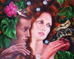 In the garden of Eden by Italia-Ruotolo-Art