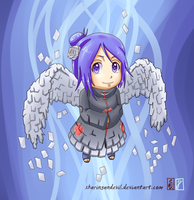 Chibi Konan by Ironcid
