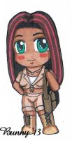 SD Chibi Anai by Rabbit-of-the-Moon