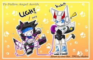 TFG1: Kitty Prowl+Jazz for FAA by JinoSan