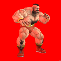 Zangief by Sticklove