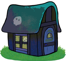 Spooky Wooky House by DescaKlang