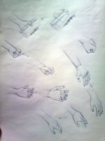 hand study by Bahrit