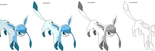 Glaceon base-template by warriorcatgirl365