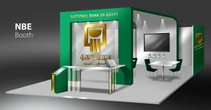 NBE Booth by rmelsheikh