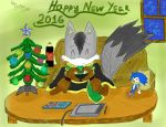 New Year Greetings From Me by EngieTheCat