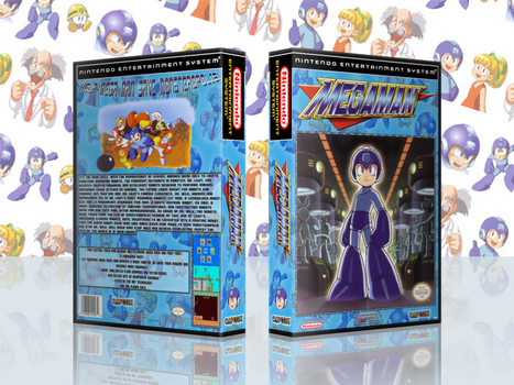 MegaMan 1 Complete Works Cover by TuxedoMoroboshi